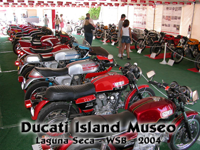 Click here to get a photo essay of the 2004 World Superbike Ducati Island activities